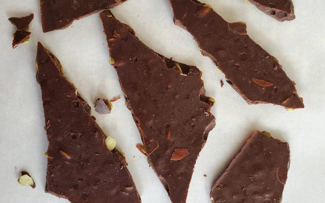 Delicious (Healthy) Pumpkin Seed Chocolate